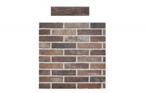 Rondine Tribeca Brick Old Red 6x25